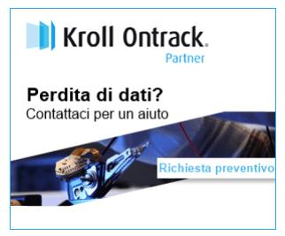 Partner di recupero dati Kroll Ontrack